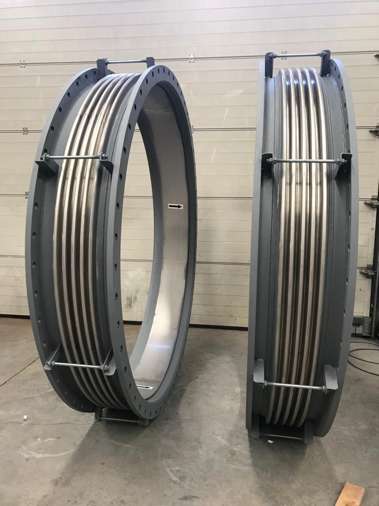Axial Expansion Joints NB2400 for Iron and Steel Industry