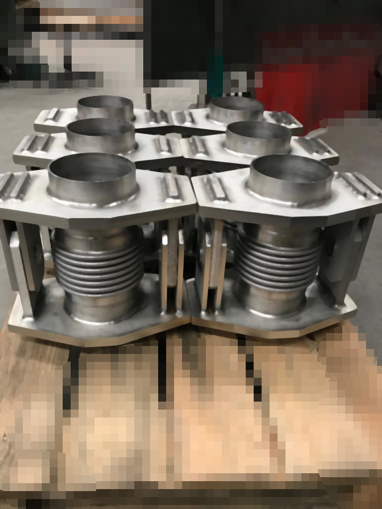 These Angular Expansion Joints RSW for 10 bar, are one of the work, manufactured and supplied in Europe, during May 2020, by Vilanova y Cruz (VilaConv