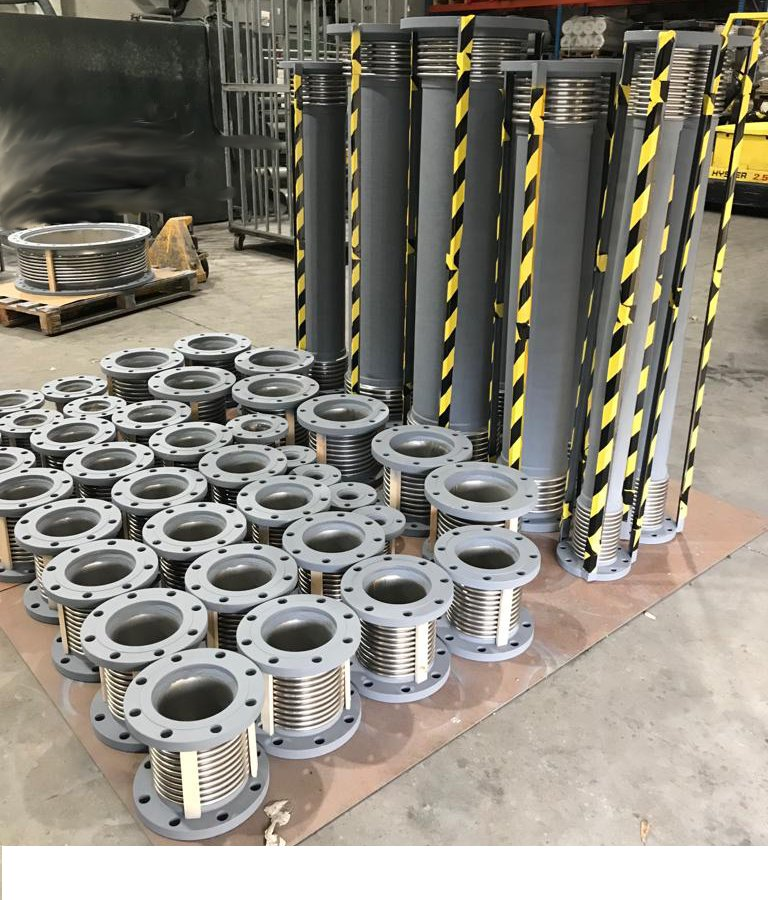 Expansion Joints DN-65 to DN-300 with anti-seismic calculations