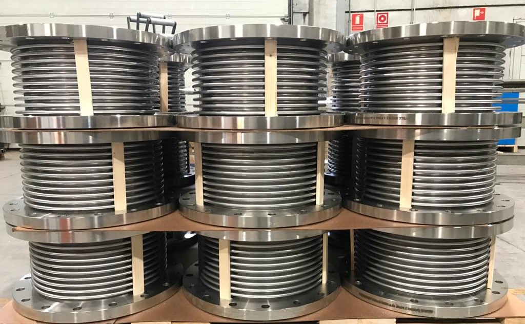 Stainless steel Expansion Joints DN-350 PN-10 AISI 316